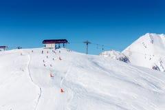 Austriacka zima zdjęcia royalty free