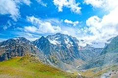 Austriacki alps gór lata krajobraz obraz stock