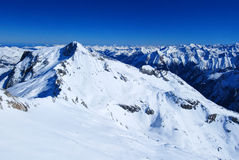 austriacki krajobraz alpy Zdjęcia Royalty Free