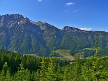 Austriacki widok Dachstein Fotografia Stock