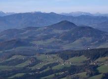 Austriaka krajobraz Fotografia Royalty Free