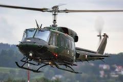 Free Austrian Air Force Agusta Bell AB-212 5D-HS Flying At Zeltweg Air Base Royalty Free Stock Photos - 216931188