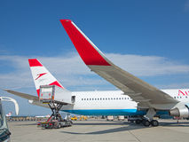 A-319 Austrian Airlines Immagine Stock