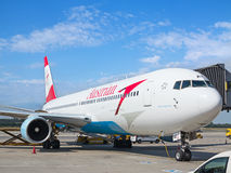 A-319 Austrian Airlines Photo libre de droits