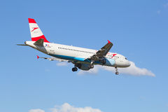 A-320 Austrian Airlines Immagine Stock
