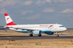 Austrian Airlines Airbus A321 Fotografía de archivo