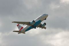 Austrian Airlines Airbus A319 Royalty Free Stock Photos