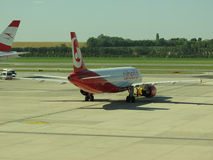 Airberlin aircraft Stock Image