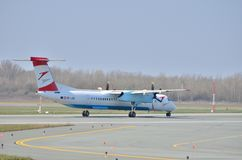 Austrian Airlines aplana imagem de stock royalty free