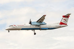 Austrian Airlines Bombardier Dash 8 Royalty Free Stock Image