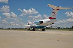 Austrian Airlines Fokker-70 Fotografía de archivo libre de regalías