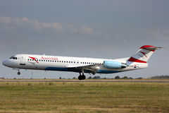 Austrian Airlines Royalty Free Stock Image