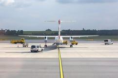 Austrian Airlines se préparant au décollage Photos libres de droits