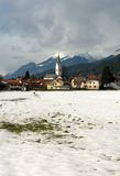 An Austrian Alpine Village Royalty Free Stock Photo