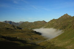 Austrian Alps. An early morning in the Austrian Alps Royalty Free Stock Image