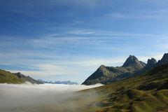 Austrian Alps. A early morning in the Austrian Alps Royalty Free Stock Images