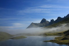 Austrian Alps. An early morning in the Austrian Alps Stock Image