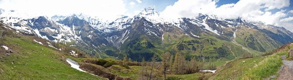 Austrian alps Royalty Free Stock Image