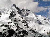Austrian alps. High hills in Austria Royalty Free Stock Images
