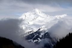 Austrian Alps around Tux Royalty Free Stock Photo