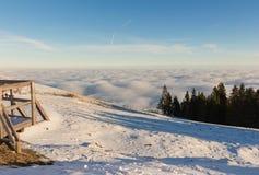Austrian Alps. Beautiful sunrise in the Austrian Alps Stock Image