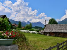Austrian Alps-Bueggen Royalty Free Stock Photo