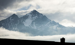 Austrian Alps Royalty Free Stock Photos