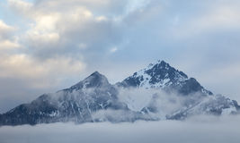 Austrian Alps Royalty Free Stock Photography