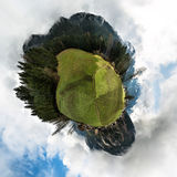 Austrian Alps - 360 degree panorama Royalty Free Stock Images