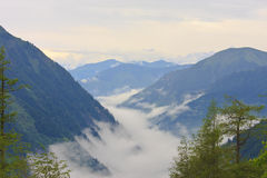 Austrian Alps of Hohe Tauern National Park Royalty Free Stock Photo
