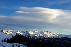 Austrian Alps Landscape Royalty Free Stock Photo