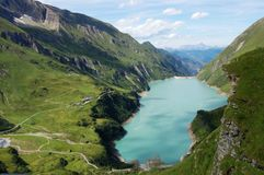 Austrian Alps Landscape - Kaprun In Austria Stock Photography