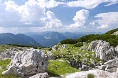 Austrian Alps. Austrian landscape with Alps on summer day Stock Image
