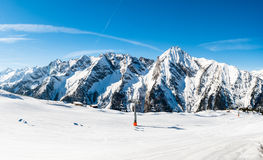 Austrian Alps, Mayrhofen ski resort Stock Image