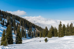 Austrian Alps, Mayrhofen ski resort Stock Images