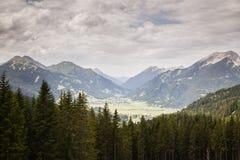 The Austrian Alps near Ehrwald Royalty Free Stock Photos