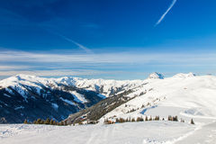 Austrian Alps near Kitzbuehel Stock Photo