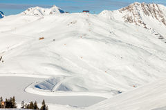 Austrian Alps near Kitzbuehel Stock Photography