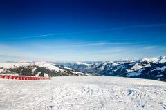 Austrian Alps near Kitzbuehel Stock Image