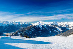 Austrian Alps near Kitzbuehel Stock Photos