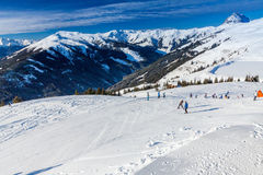Austrian Alps near Kitzbuehel Royalty Free Stock Photography