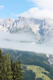 Austrian alps in summer Stock Images