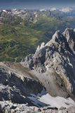 Austrian Alps in Summer Stock Photo