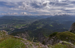 In the Austrian Alps Royalty Free Stock Images