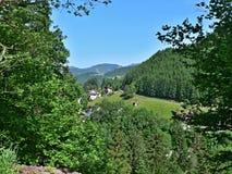 Austrian Alps-view on the Eben im Pongau Stock Image