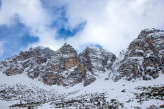 Austrian Alps in winter Stock Photography