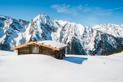 Austrian Alps in the winter Stock Photos