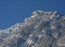 Austrian Alps in winter Royalty Free Stock Images