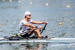 Free Austrian Athlete On A World Rowing Cup Competition Rowing Stock Image - 117964201