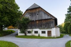 Austrian barn Stock Images